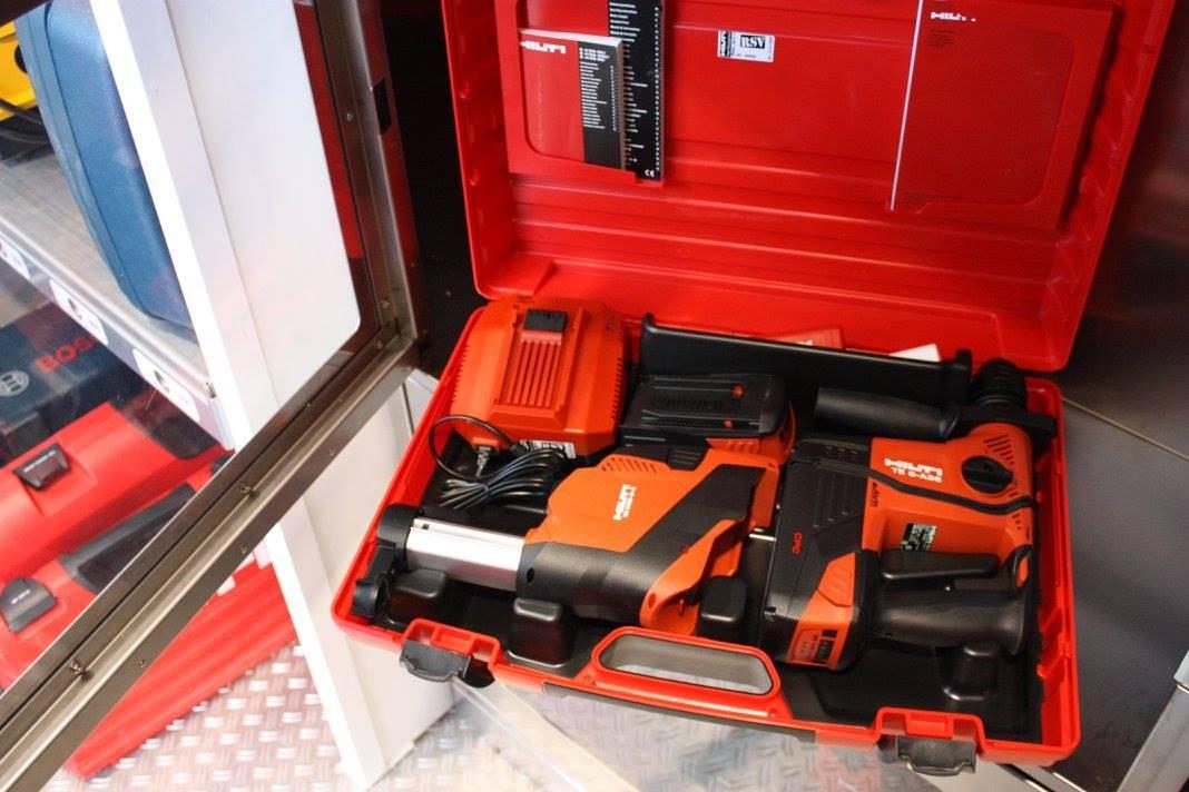 Werkzeugkoffer aus der Mietbox